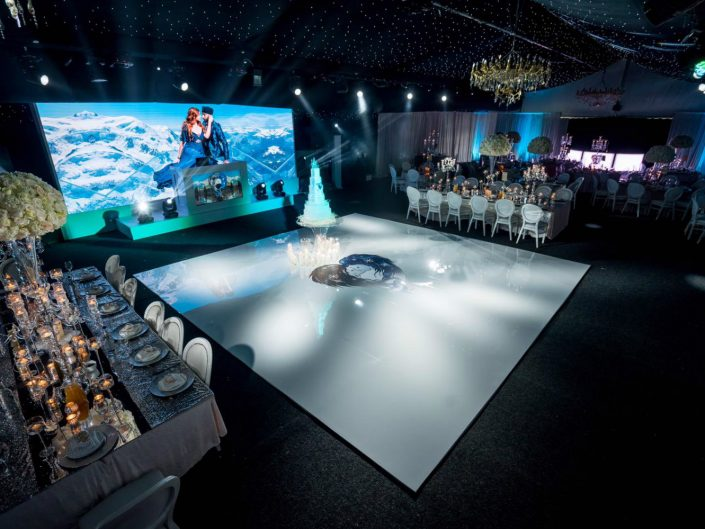 bespoke stage designs for events